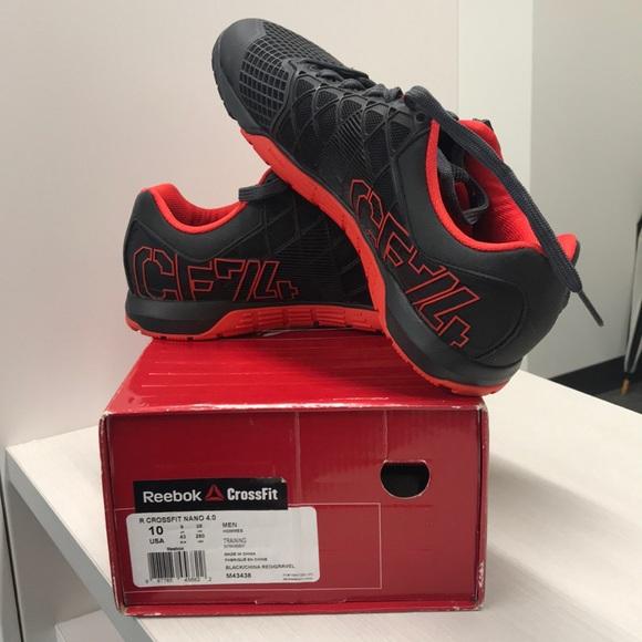 moitié prix fantaisie shoes men r reebok crossfit nano 4.0